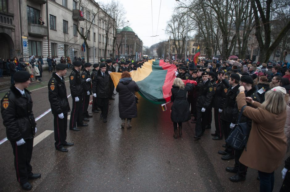 Kaunas švenčia Kovo 11-ąją