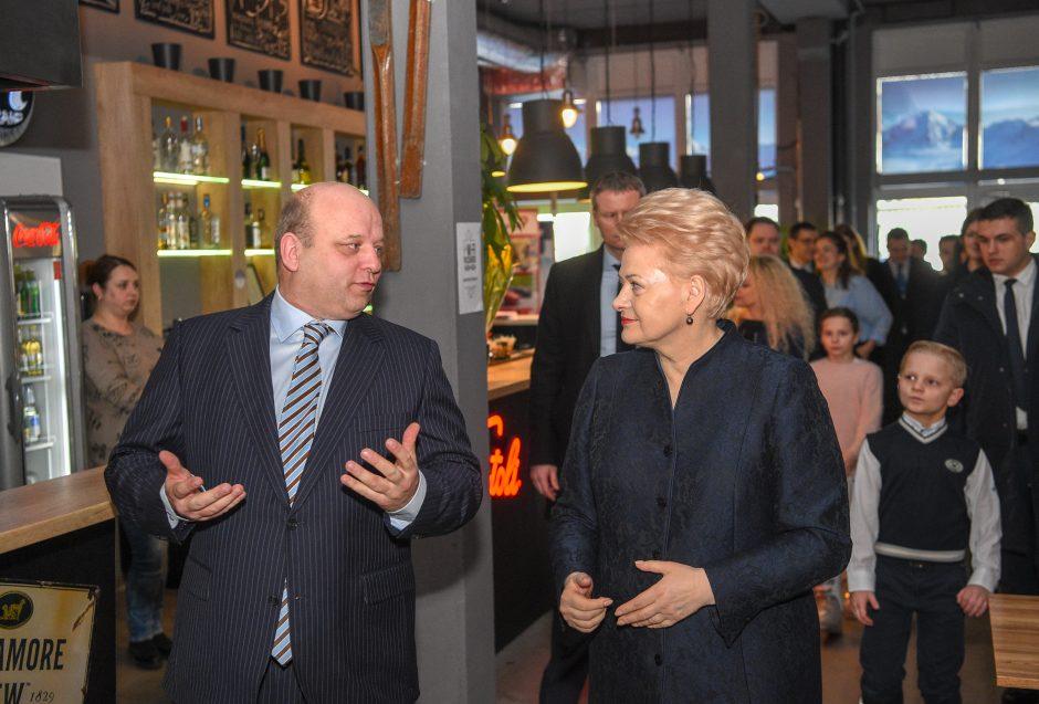 Prezidentės dėmesys – Lietuvoje gyvenantiems užsieniečiams
