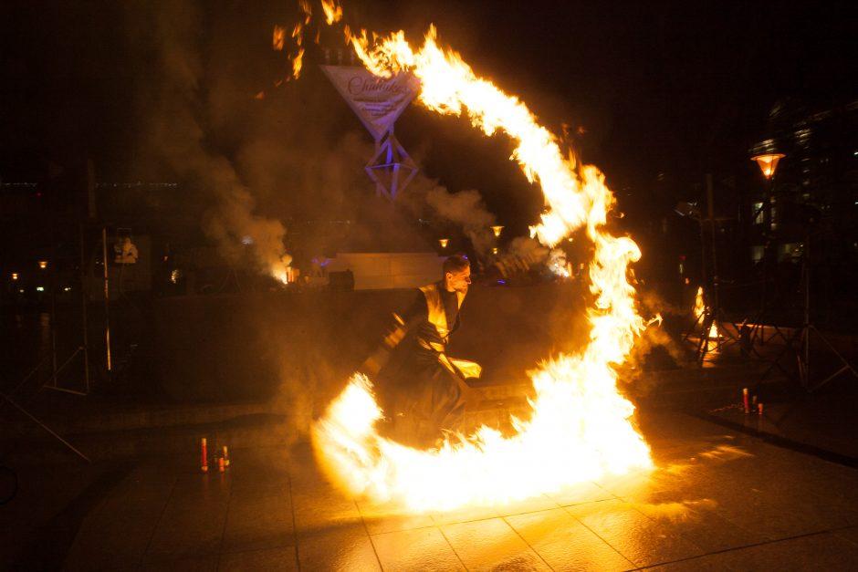Sostinėje prasidėjo žydų šventė Chanuka