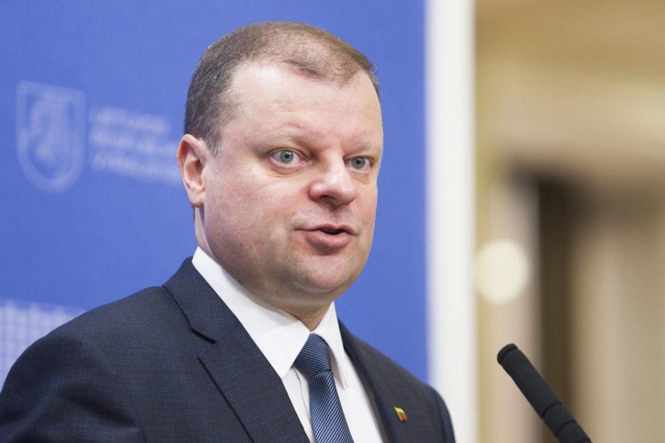 Premjeras: valstybės turto pertvarka leistų sutaupyti apie 20 mln. eurų