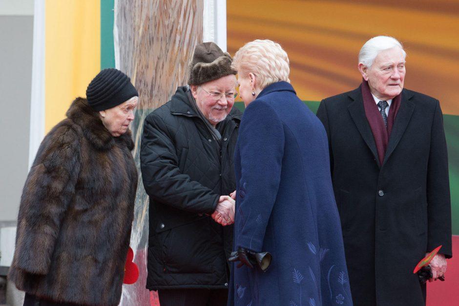 Baltijos valstybių vėliavų pakėlimo ceremonija