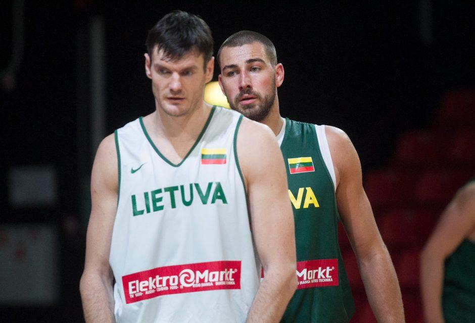 Lietuvos rinktinė tęsia pasiruošimą Europos čempionatui