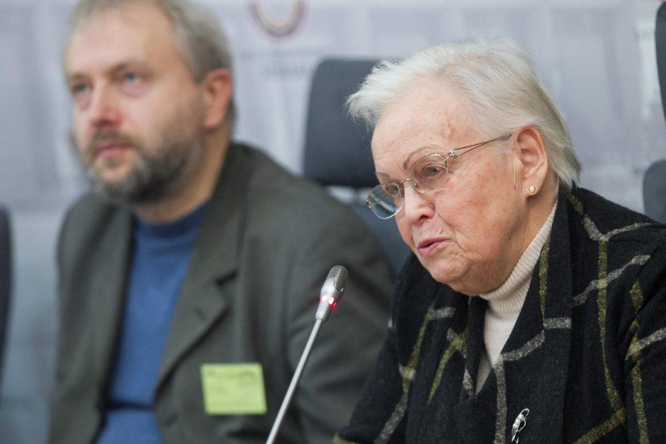 Spaudos konferencija dėl aukciono Ukrainos kariams paremti
