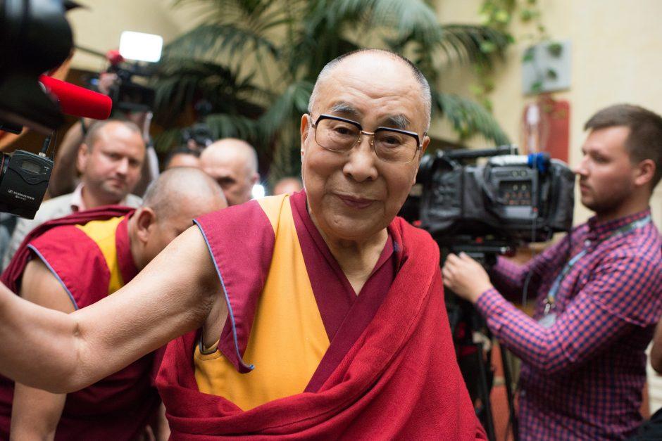 Dalai Lamos vizitas Vilniuje