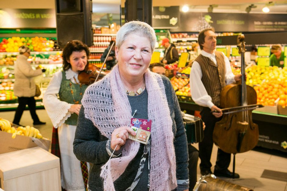 Tarptautinės senjorų dienos proga Vilniuje – mezgimo varžybos