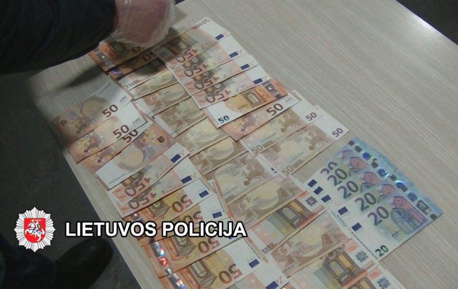 Sulaikyti dar du pinigus iš senjorų vilioję asmenys