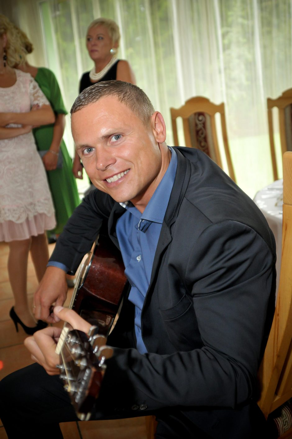 Klaipėdos Kelių policijos vado aistra – muzika