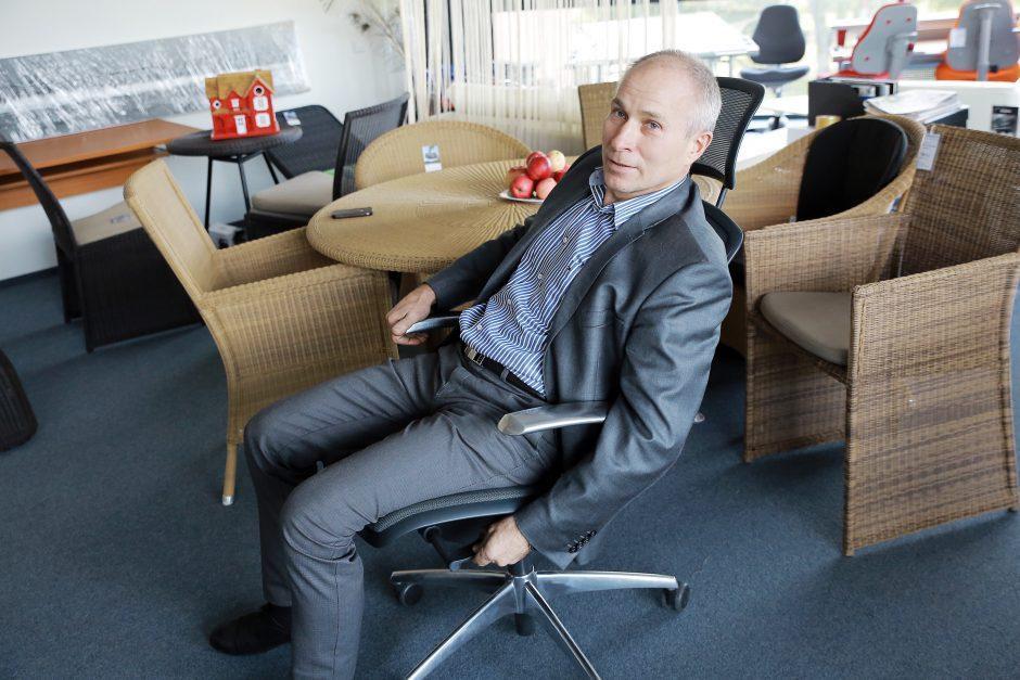 Klaipėdiečio verslas prasidėjo nuo kėdės