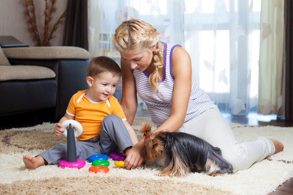 Gyvūnai ir vaikai – sunkiai įveikiama kliūtis ieškant būsto