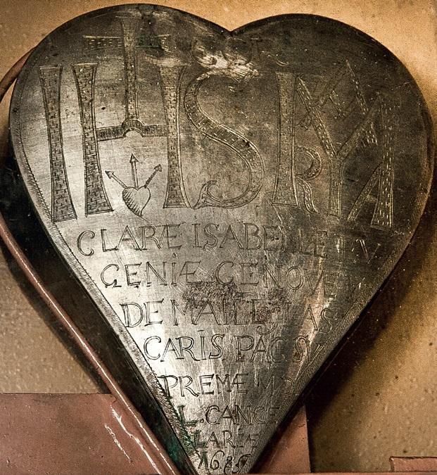 Pirmosios LDK damos širdį išgelbėjo vienuoliai