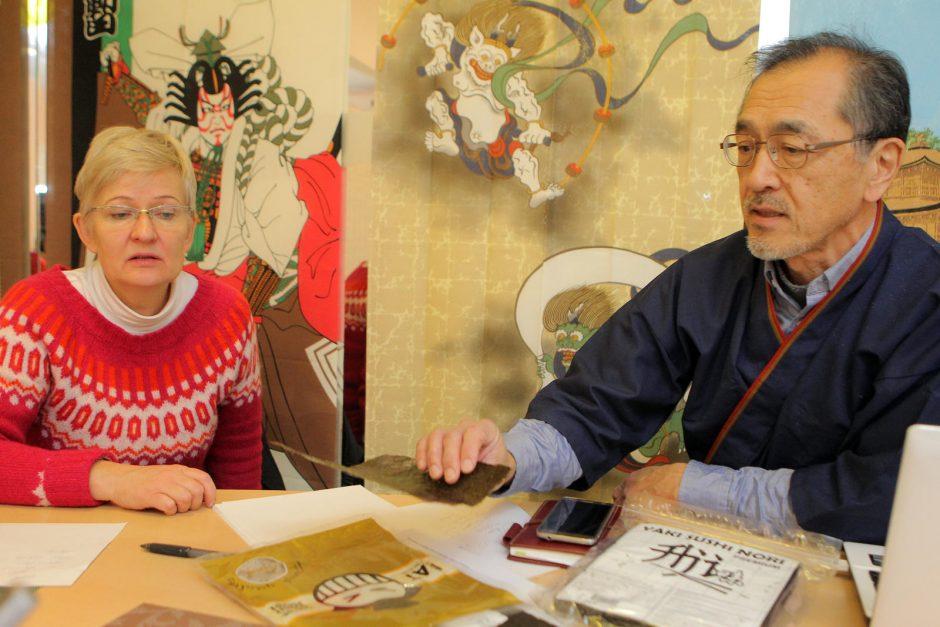 Japonas nesistebi lietuviškais sušiais