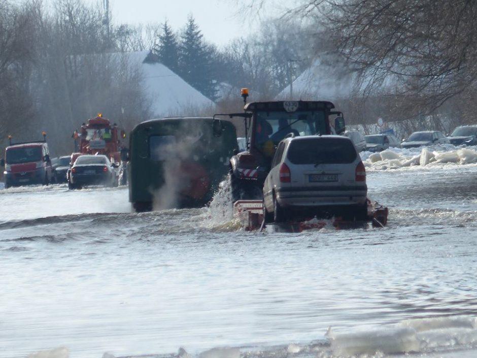 Pamariui – potvynio prognozės