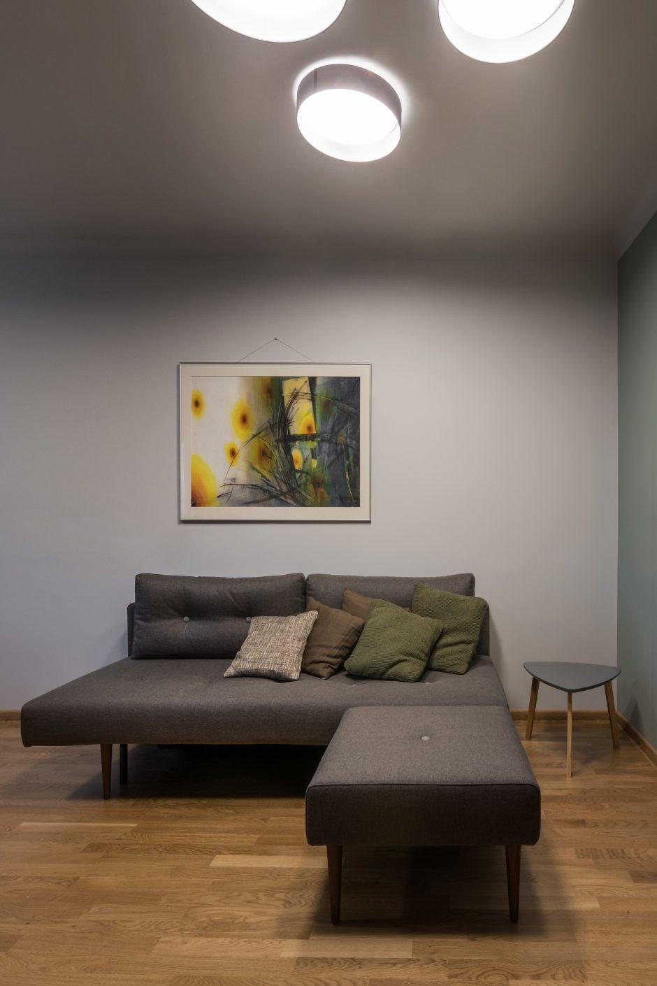 Stilingas interjeras prikėlė vaikystės namų dvasią
