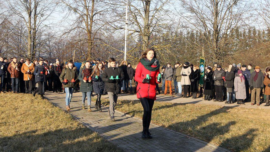 Laisvės gynėjų dienos minėjimas Kauno rajone