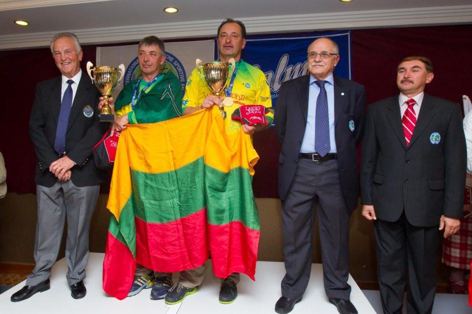 Pasaulio spiningavimo čempionai – klaipėdiečiai