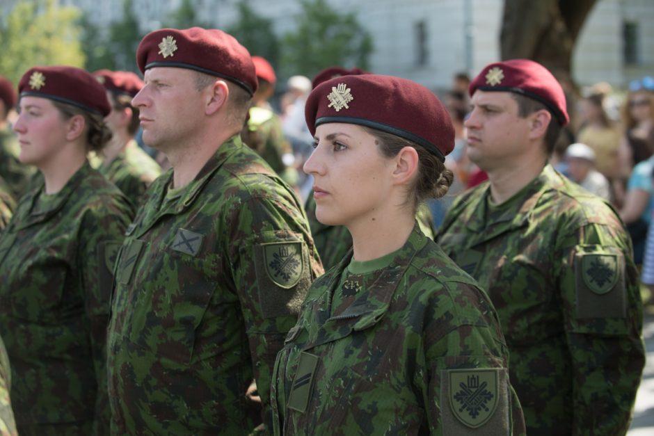 JAV kariškių ir Lietuvos kariuomenės bendradarbiavimo minėjimas