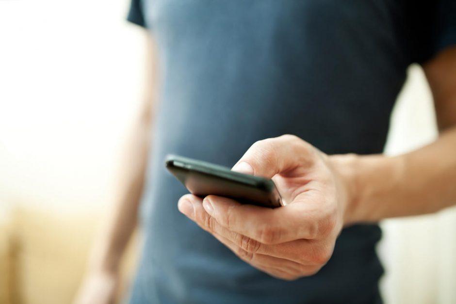 Išmanieji telefonai sukelia trumparegystę