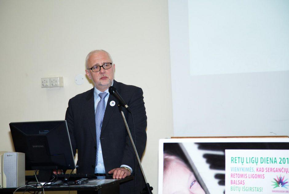 Medikai ir pacientai susivienijo bendram tikslui