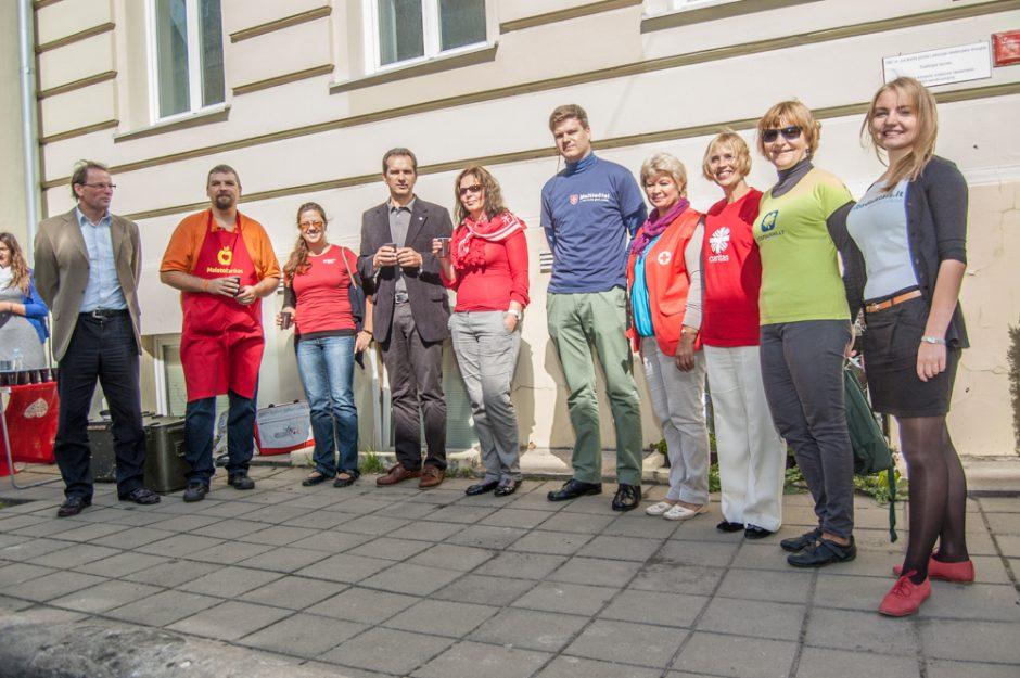 Lietuvoje pirmą kartą minima Tarptautinė labdaros diena