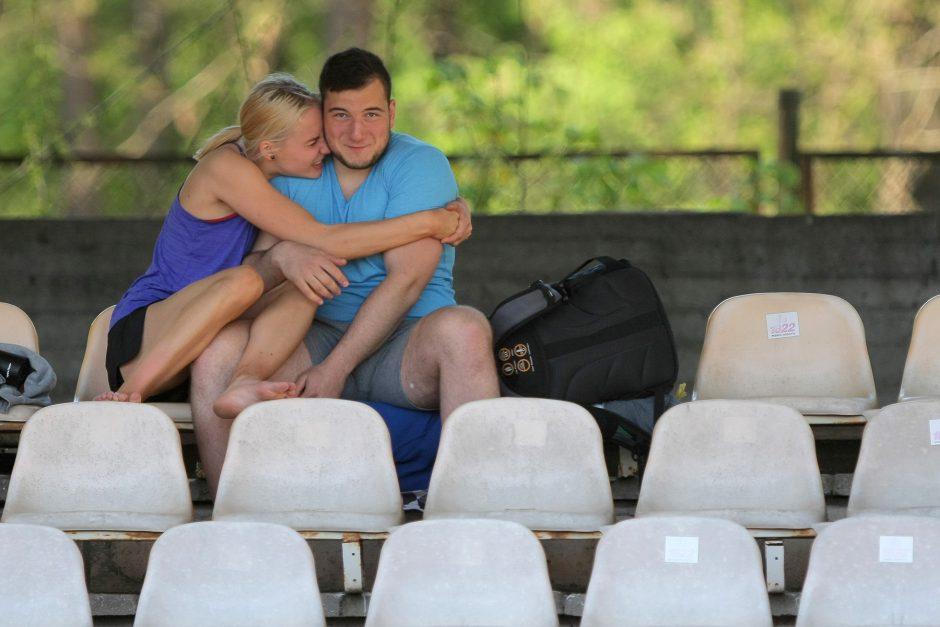 Kaune lengvaatlečiai atidarė vasaros sezoną