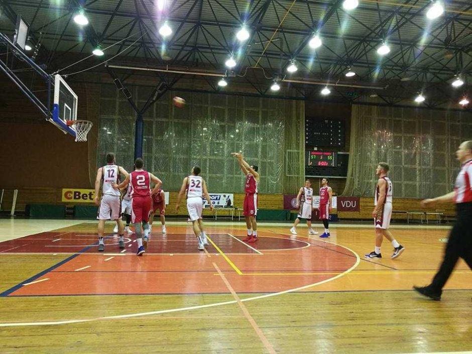LSKL lyderiai namuose pralaimėjo LSU krepšininkams