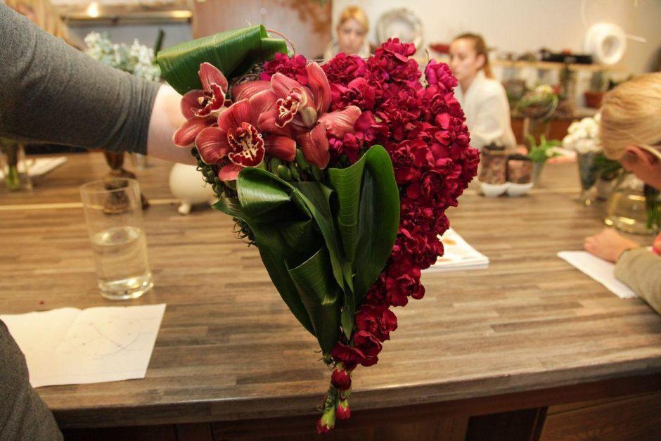 Floristas apie šv. Valentino dienos dovanas: milijonai simbolių gali reikšti meilę