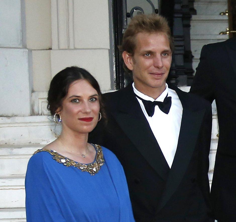 Grace Kelly vaikaitis Monake vedė savo ilgametę draugę kolumbietę
