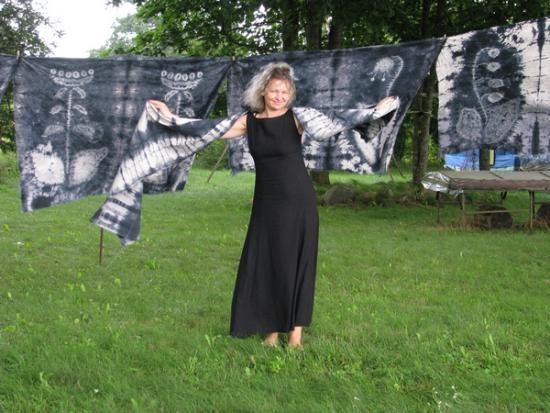 Dailiosios tekstilės paveiksluose – dingę prūsai
