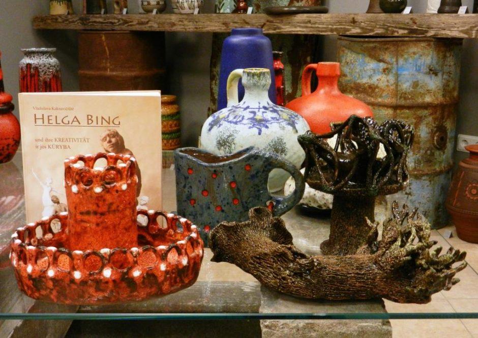 Keramikos parodoje Klaipėdoje – dvi kartos ir dvi šalys