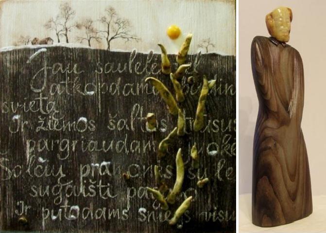 Lietuvos ir Rusijos dailininkai K.Donelaičiui nusilenks paroda su gintaru