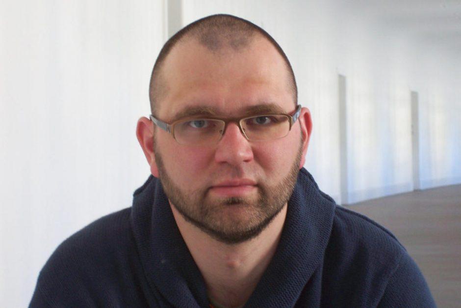 Rašytojas L.Katkus Klaipėdoje pristatys daug ginčų sukėlusį savo romaną
