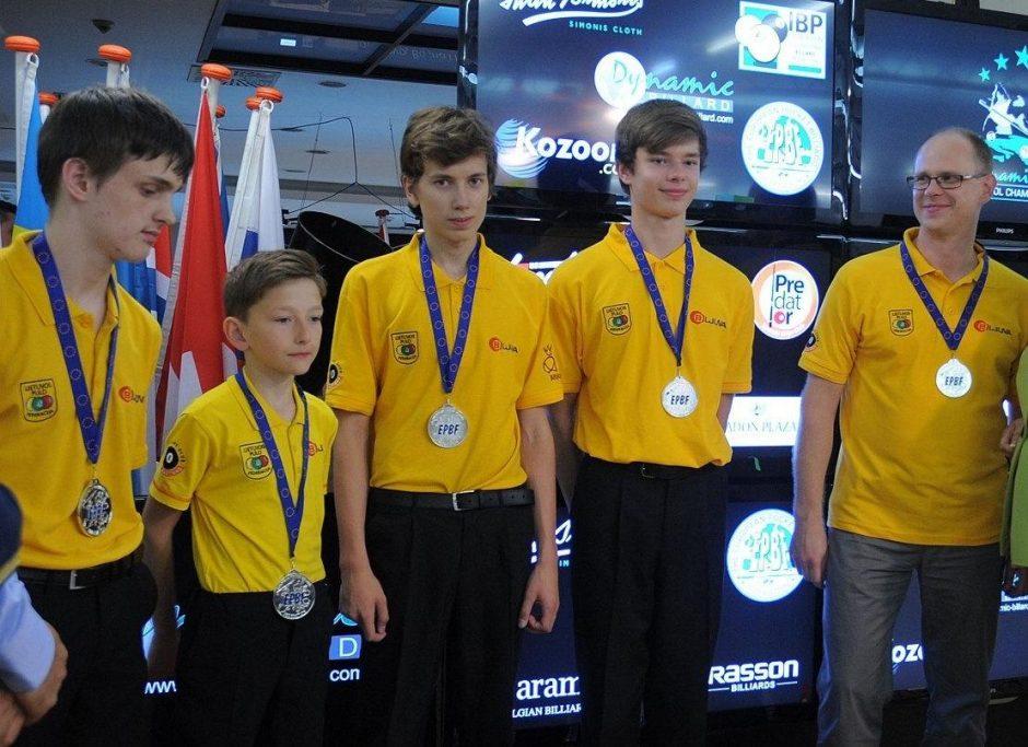 Lietuviams – Europos jaunimo pulo čempionatas sidabras