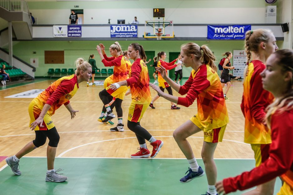 """Naująjį sezoną """"Fortūna"""" pradėjo pergale prieš """"Aistes-LSU"""""""
