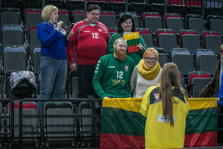 Lietuvos rankininkai įveikė Gruzijos rinktinę