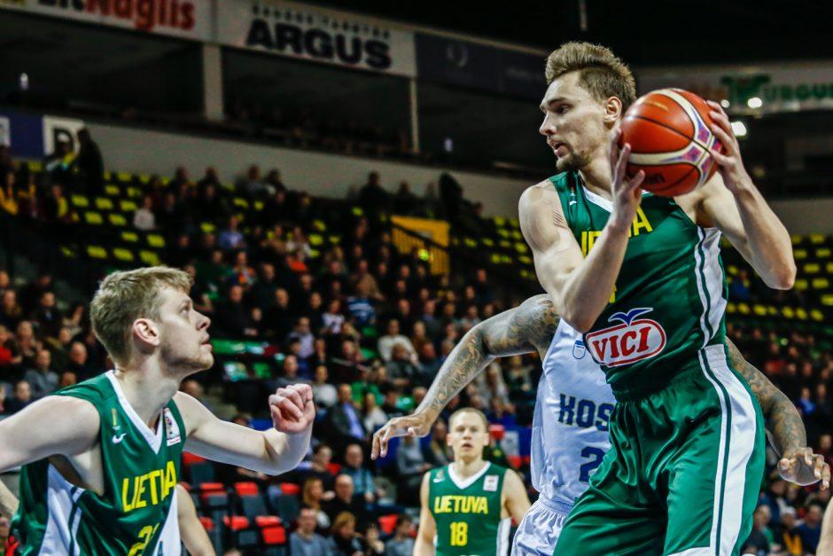Lietuva - Kosovas 106:50