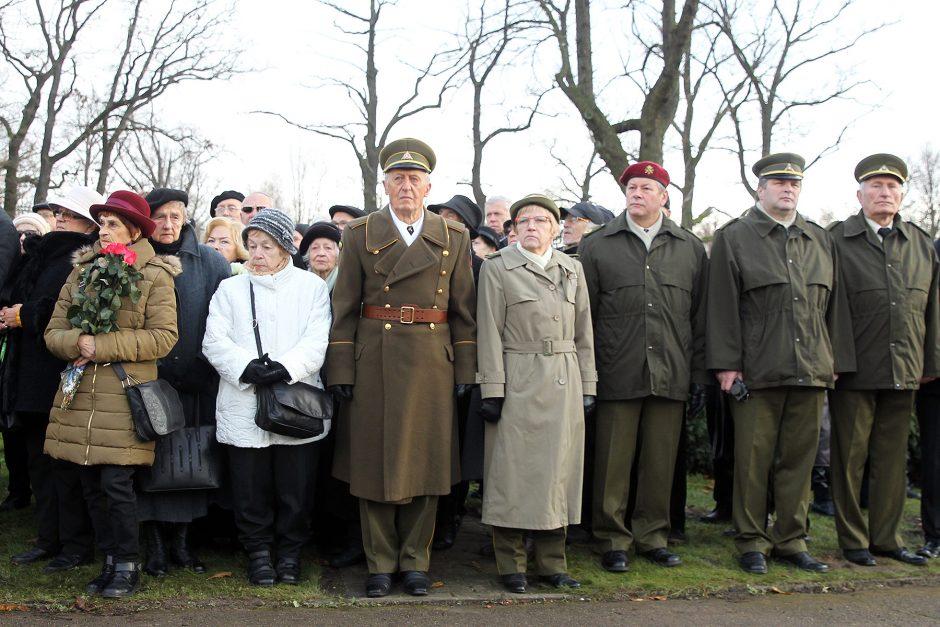 Memorialo žuvusiems karininkams atidengimas