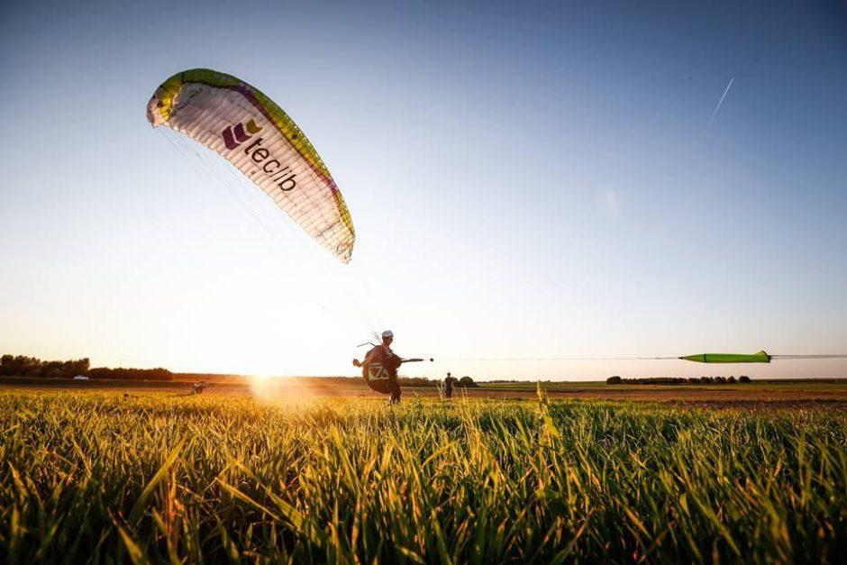 Europos parasparnių pilotai varžysis Paluknyje