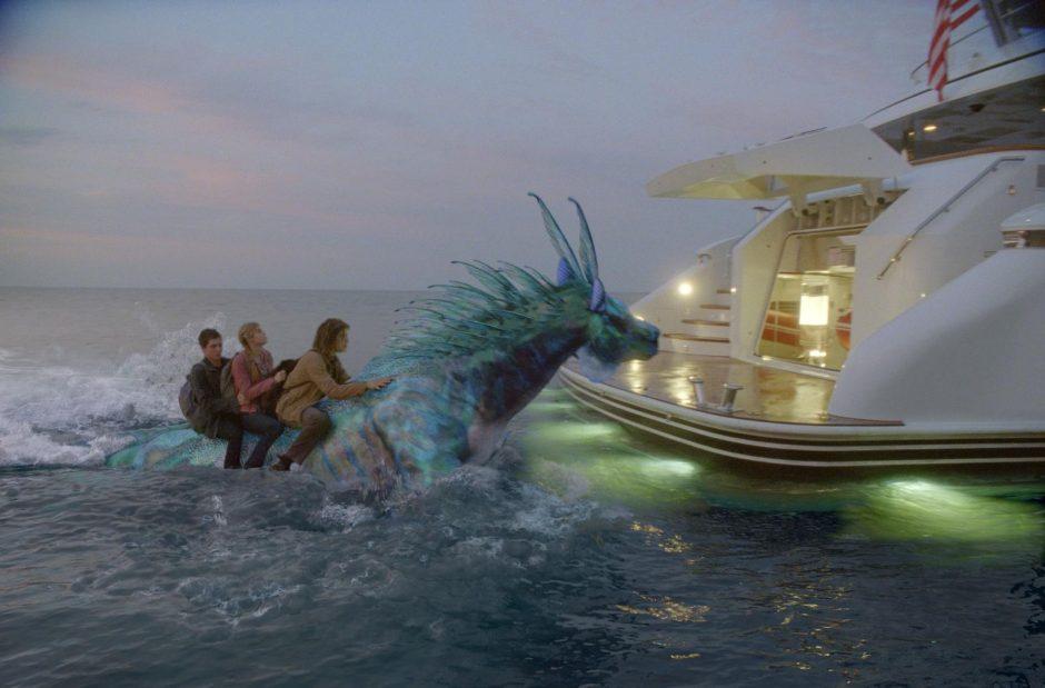 """Filmuojant """"Persis Džeksonas. Monstrų jūra"""" aktorius kankino jūros liga"""