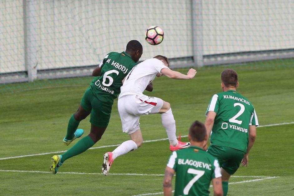 """""""Žalgiris"""" po dramatiškos kovos įveikė """"Sūduvą"""" ir žengė į LFF taurės finalą"""