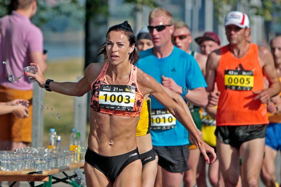 Olimpietė R. Drazdauskaitė: stiprybė slypi charakteryje