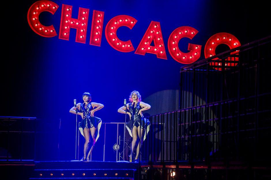 """Miuziklas """"Čikaga"""" grįžo į Klaipėdą"""