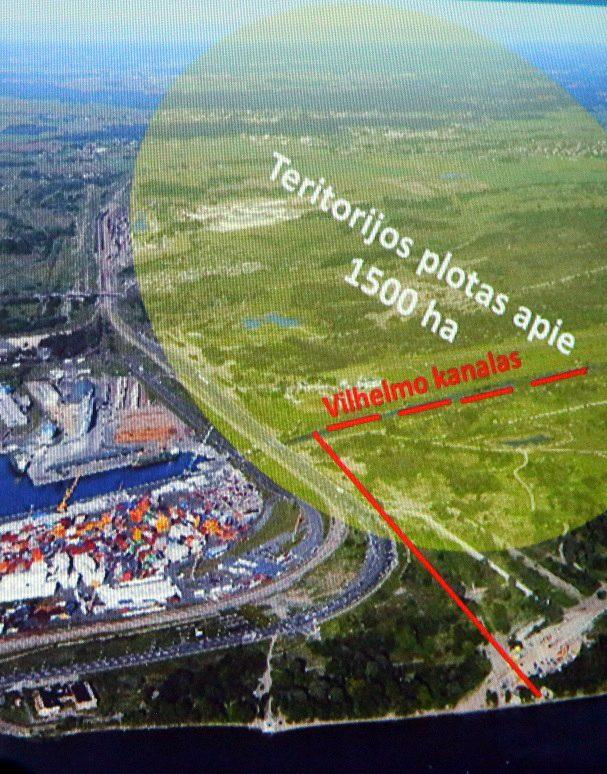 Uosto rezervinei žemei – specialusis statusas