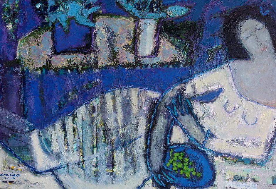 Naujoje Klaipėdos galerijoje – N. Yanekinos tapybos paroda