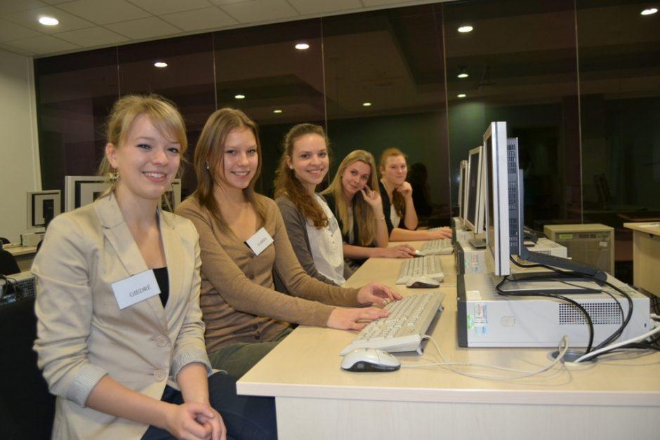 Moksleiviai savo svajonių profesijas išbandė dar besimokydami mokykloje
