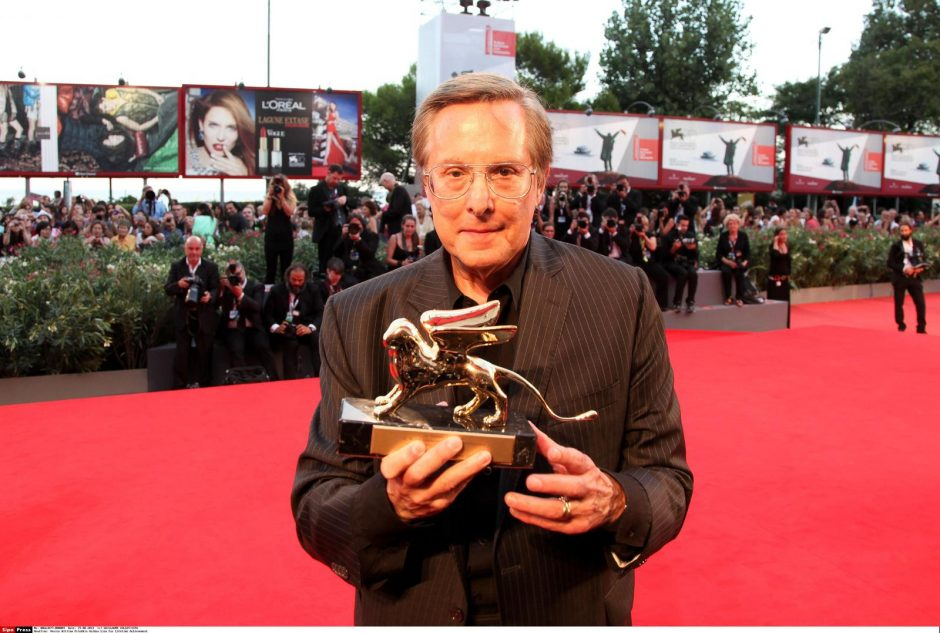 Venecijos kino festivalio apdovanojimas už gyvenimo pasiekimus įteiktas W. Friedkinui