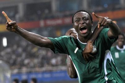 Futbolo finale žais Nigerijos rinktinė