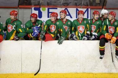 Lietuviai neatsilaikė ir prieš Austrijos ledo ritulininkus