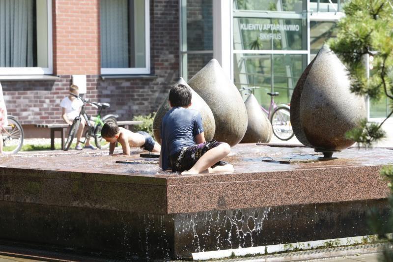 Klaipėdoje netrukus ištrykš miesto fontanai