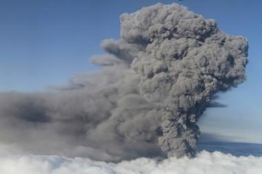 Ejafjadlajokudlio ugnikalnis keičia Atlanto ekosistemą