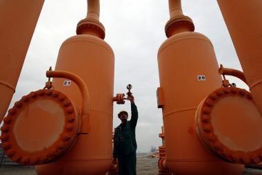 Ukraina nutraukė savų dujų eksportą į Lenkiją
